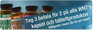 Tag 3, betala för 2 WNT-burkar hos Svenskt kosttillskott