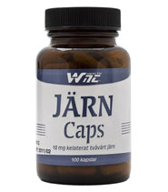 WNT Järn Caps