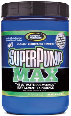Gaspart Nutrition Superpump Max