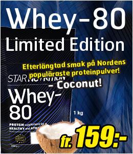 Star Nutrition Whey-80 coconut