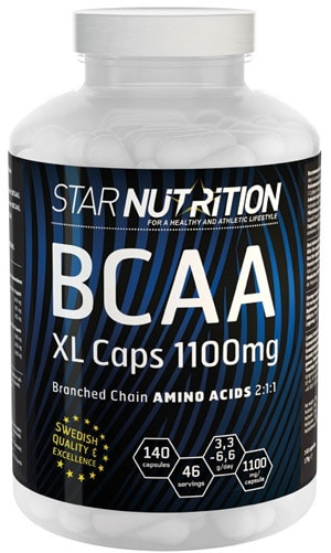 Star Nutrition BCAA XL-caps 140 kapslar