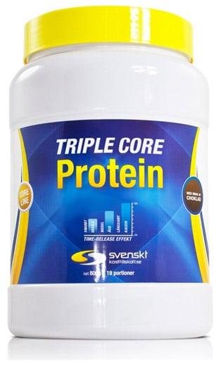 Triple core protein från Svenskt kosttillskott