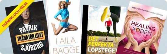 Upp till 30% rabatt och fri frakt på böcker om träning och hälsa hos CDON