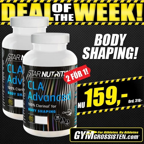 2 för 1 Star Nutrition CLA Advanced hos Gymgrossisten