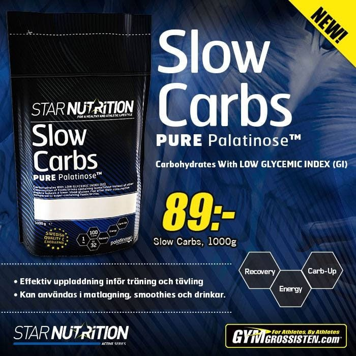 Star Nutrition Slow Carbs