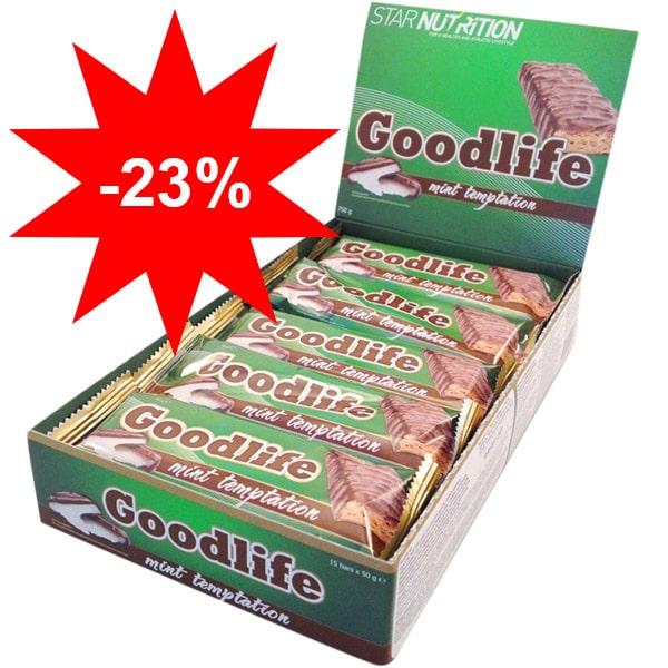 23% rabatt på Star Nutrition Goodlife proteinbars hos Gymgrossisten och Bodystore