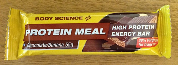 Body Science Protein meal Chocolate banana