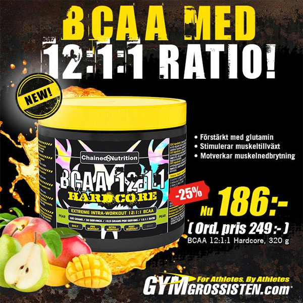 Chained Nutrition BCAA 12:1:1 Hardcore