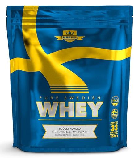 PureSwe Whey Mjölkchoklad proteinpulver