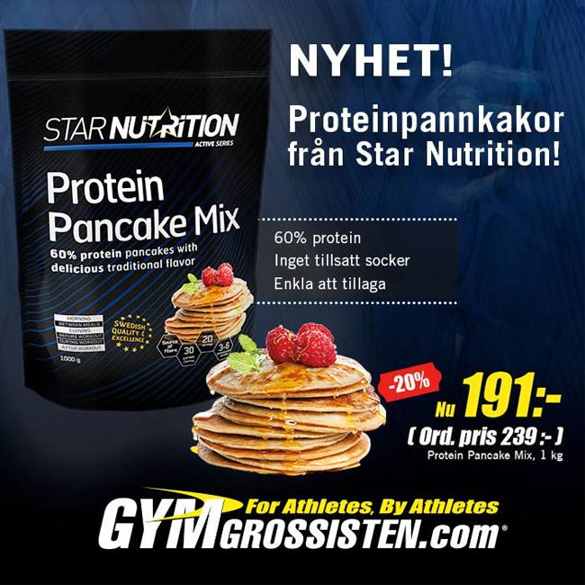 Star Nutrition Protein Pancake Mix
