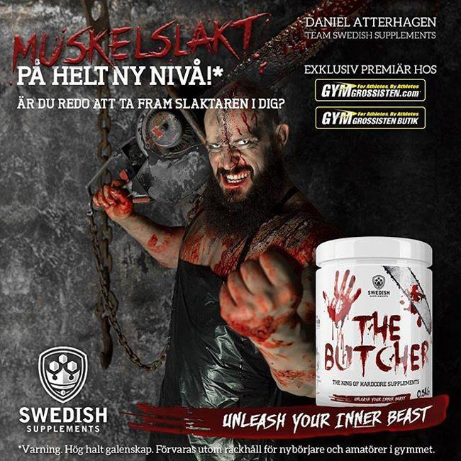PWO:n Swedish Supplements The Butcher introduceras